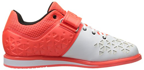 Adidas Performance Mens Powerlift.3 Scarpa Cross-trainer Solare Rosso / Nero / Bianco