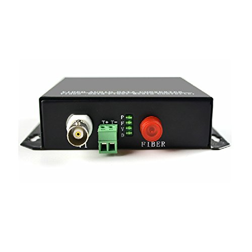 Guantai Video Fiber Optic Media Converter -Transmitter and Receiver for CCTV Security