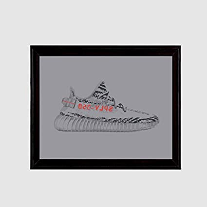 0adf07c8a0f0 Image Unavailable. Image not available for. Color  Yeezy 350 Boost v2 Gray  Beluga 2.0 Art Print