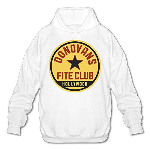 SAMMOI Ray Donovan Fite Club Men's Cool Hooded Sweatshirt M White