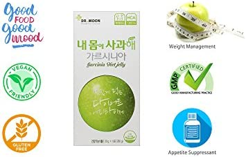 [Dr. MOON] Garcinia Diet Jelly (20g x 14 Packets) – A Healthy Diet, Natural Weight Loss Diet Supplement, Fast Acting Appetite Suppressant, Garcinia Cambogia, Wild Mango, Green Apple 3