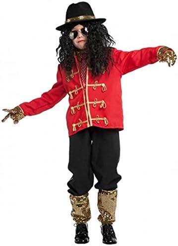 Commerciale Italiana Disfraz de Michael Jackson.: Commerciale ...