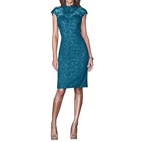 Festlichkleider Formalkleider La Brau Promkleider Spitze Kurzes mia Blau Brautmutterkleider Knielang Abendkleider Etuikleider xwvn0OUqTw