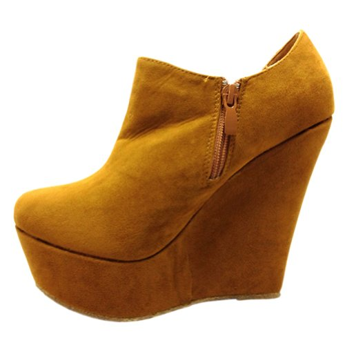 Blancho Femme Trendy T Wedge Boot