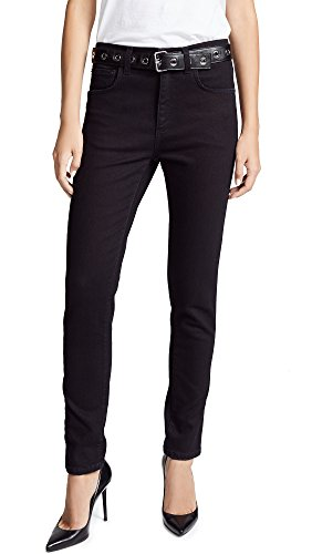 ted Trousers, Black, 40 (Moschino Cotton Trousers)