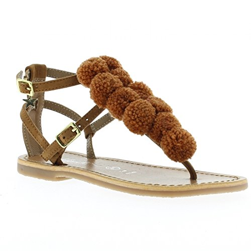 LILISUN - Tongs / Sandales - Nina - Marron