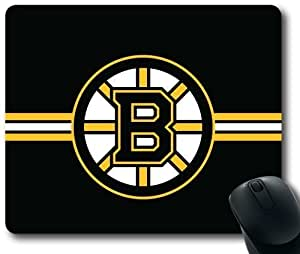 NHL Boston Bruins Hockey Sports Mouse Pad, Rectangle Mousepad Designed by the Micase by kobestar
