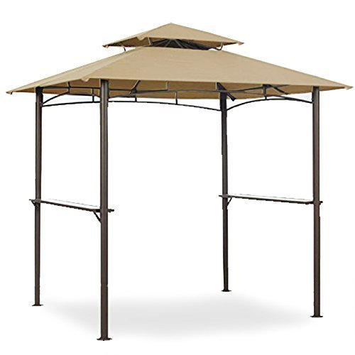 Garden Winds Grill Shelter Replacement Canopy Model L-GZ238PST-11 (Will not fit Any Other Gazebo Model) by Garden Winds