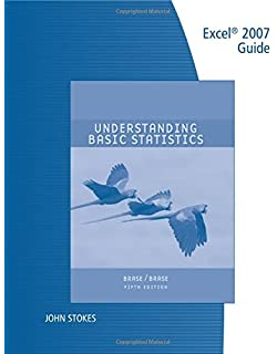 Amazon understanding basic statistics 6th edition technology guide excel for brasebrases understanding basic statistics brief fandeluxe Gallery
