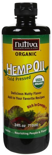 Nutiva Oil Organic Hemp by Nutiva