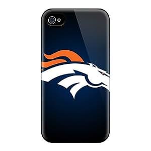 Denver Broncos Shock Absorbent Bumper Cases For Iphone 6plus