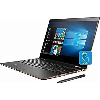 """HP Spectre x360 15t Convertible 2-in-1 Laptop in Dark Ash Silver (8th Gen Intel i7-8550U, 32GB RAM, 1TB SSD, Nvidia Geforce MX150, 15.6"""" 4K UHD 3840x2160 Touchscreen, Stylus Pen, Win 10 Pro)"""