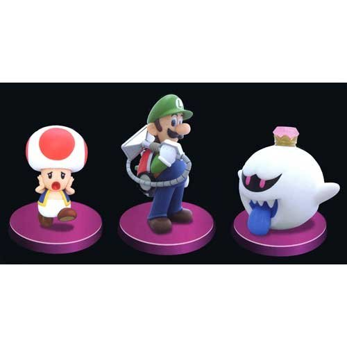 Luigi's Mansion 2 Standard figure all three sets