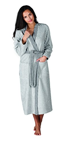 Egeria Paulie Mujer Albornoz, algodón, acero, XL