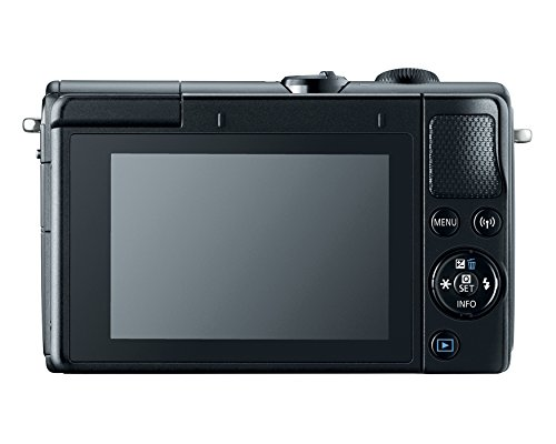 Canon EOS M100 Mirrorless Camera w/15-45mm Lens – Wi-Fi, Bluetooth, and NFC enabled (Black)