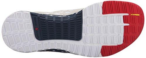 Reebok Damen Crossfit Nano 5.0 Trainingsschuh Americana / Polarblau / Excellent Rot / Collegiate Navy / Zinn