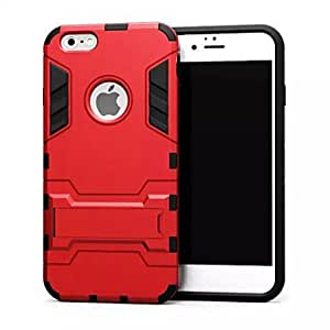 ZXC New Iron Man Metal Hard Cases with Stand for iPhone 6 (Assorted Colors) , Blue