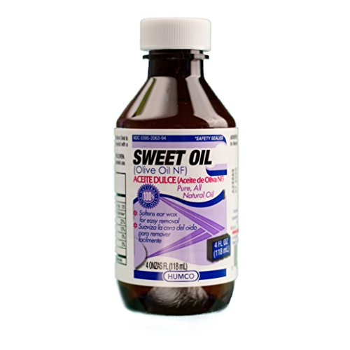 Sweet Oil, 4oz., Pure, All Natural Oil