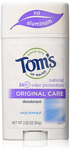 Tom's of Maine Natural Original Care Deodorant Stick, Uns...