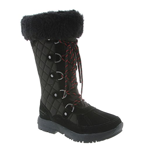 Ii Women's Snow Toe Boots Tall Black Waterproof Duck Bearpaw Quinevere nZfWAA