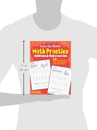 Amazon.com: Solve-the-Riddle Math Practice: Addition & Subtraction ...