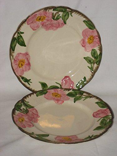 Set of 2 - Franciscan Desert Rose 8 Inch Dessert Salad Plate USA 2 Franciscan Desert Rose