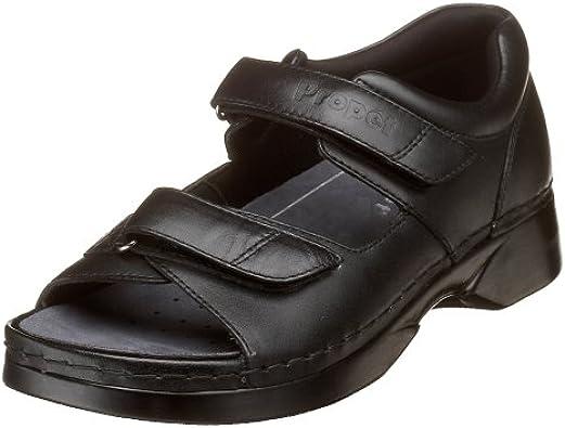W0089 Pedic Walker Sandal, Black, 10 XX