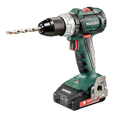 Metabo SB 18 LT BL 2x 2.0kit 18V Brushless Hammer Drill/Driver 2.0Ah Kit Review