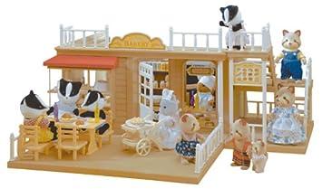 Sylvanian Families Village Bakery Amazoncouk Toys Games