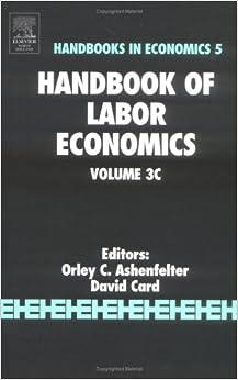 Handbook of Labor Economics, Volume 3C