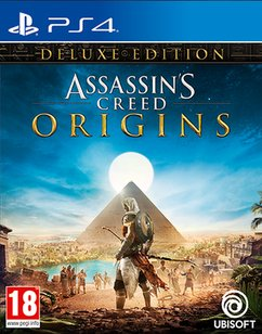 Assassin's Creed Origins Deluxe Edition (PS4) (UK IMPORT)