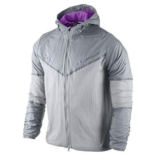 Nike Men's Cyclone Lightweight Packable Running Jacket Large -