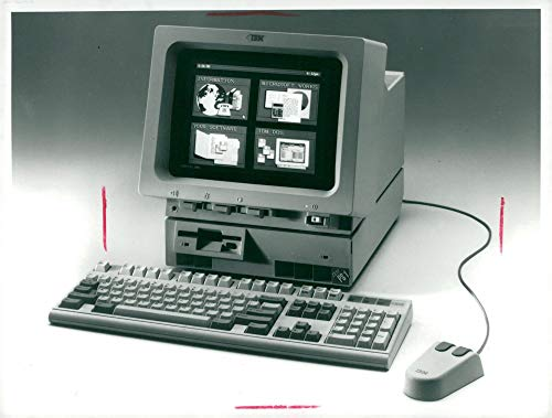 Ibm Photo - Vintage photo of IBM PS.