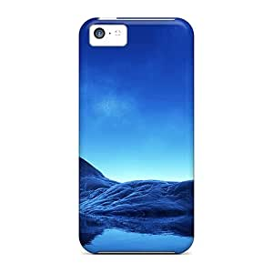 Oilpaintingcase88 Cases Covers Protector Specially Made For Iphone 5c Blue Rock In The Sea