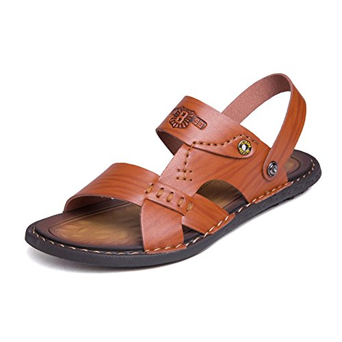 Slip Uomo Sandali Scarpe Backless Shoes Cricket Switch da On da Marrone Strap Traspiranti qEE6rtpw