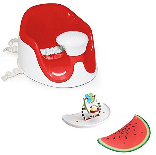 Prince Lion Heart BebePOD Chubs Plus Baby Sitter and Booster Seat, Watermelon Red ()