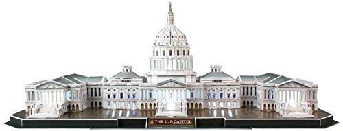 Daron US Capitol Building LED 3D Puzzle (Building Capitol Us)