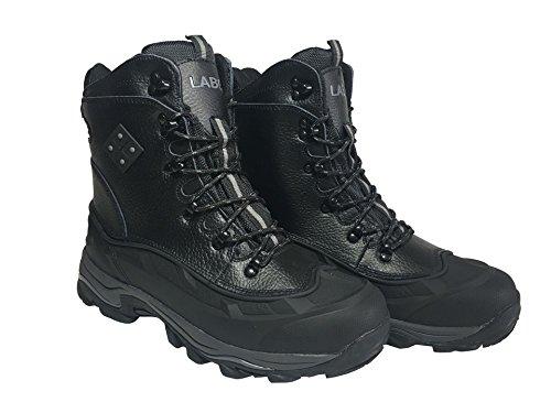 MEADA Labo Winter Fashion Snow Boot Black 10.5