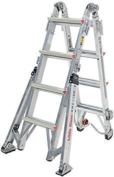 Poco gigante modelo 17 revisión escalera para bomberos: Amazon.es: Bricolaje y herramientas