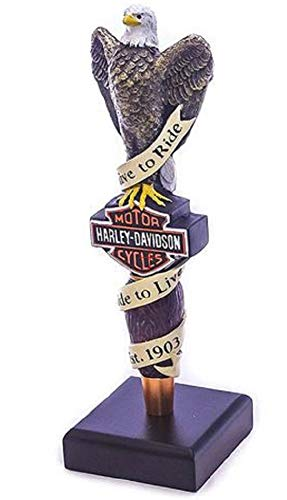 - Harley-Davidson Live To Ride Eagle Bar Tap Handle HDL-18518