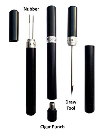 Modus II Cigar Tool (V2.1) - Draw Tool, Cigar Punch & Nubber