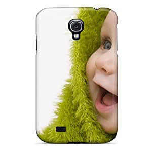 High Quality OTcase Child Happiness Eyes Green Skin Case Cover Specially Designed For Galaxy - S4