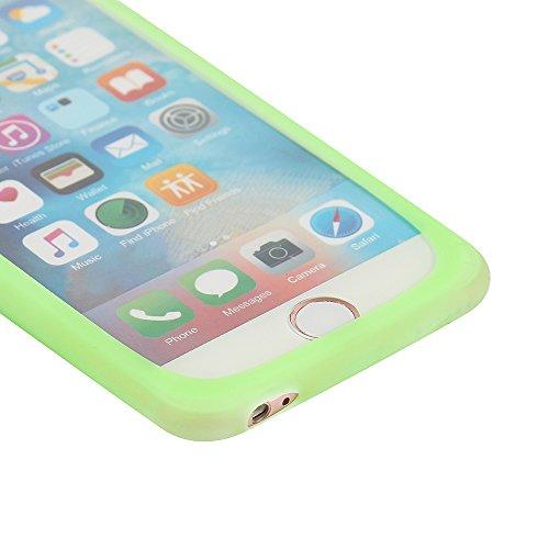 Silikonbumper / Bumper aus TPU für Apple iPhone 4s, Grün | Schutzrahmen Schutzring für Smartphone Case Hülle Schutzhülle - K-S-Trade (TM) (Wir zahlen Steuern in Deutschland!)