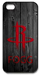 Icasepersonalized Personalized Protective Ipod Touch 5/Houston Rockets in Wood Background