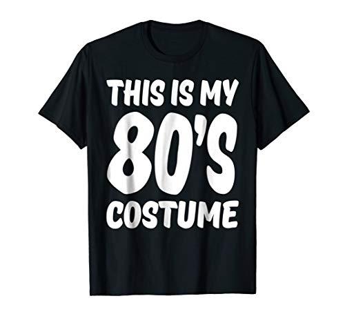 80s Costume Shirt for 1980s Clothing for 80s Guy Girl