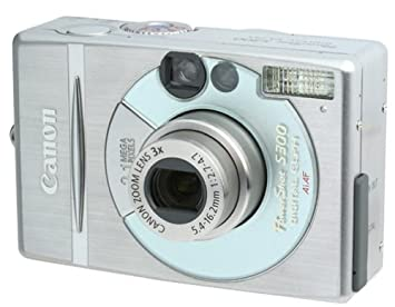Review Canon PowerShot S300 2MP