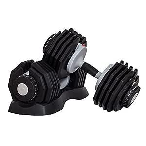 Profihantel Sistema de Pesas DialTech de 2,5 a 25 kg, Ajustable de ...