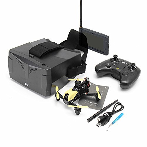 Cheap Hubsan X4 Storm Professional Version H122D FPV Racing Drone 3D Flip with LCD Video Monitor and HV002 Goggle.