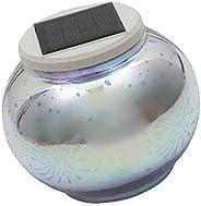Serenable Globo De Vidro Solar Bola Branco/Cor Mudando De Jardim Ao Ar Livre Luz LED - D