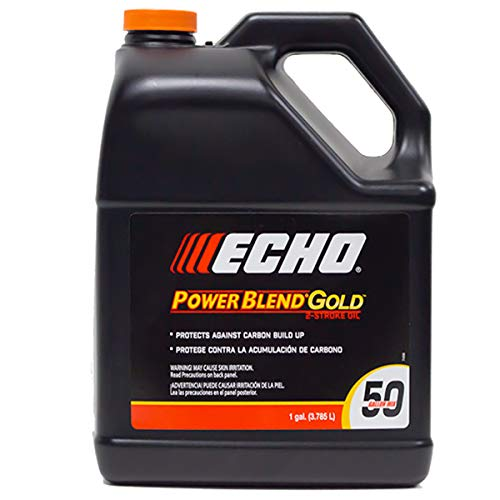 Echo One Gallon Bottles 2 Cycle Engine Oil Mix Extended Life Power Blend - 2 Mixture Cycle